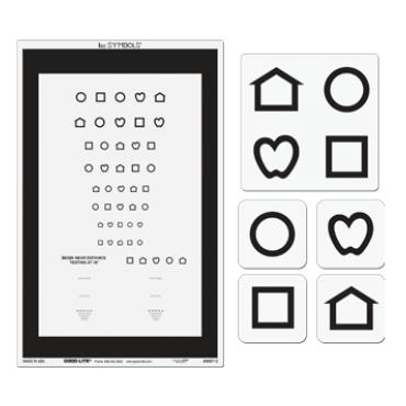 LEA SYMBOLS® Combination Distance and Near Chart | LEA Test